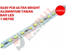 5630 ALÜMİNYUM BAR LED 1 METRE - ULTRA BRİGHT KIRMIZI
