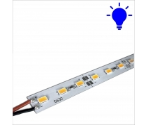 12 Volt 5630 Smd 72 Led Alüminyum Taban Bar Led  Mavi 20 Watt