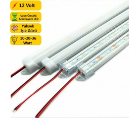 100 Cm 144  4014 Alüminyum Kasa Bar Led  36 WATT