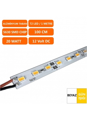 12 Volt Alüminyum 5630 Bar Led 20 Watt